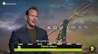 Patrick Wilson explains how the most difficult scenes of 'Aquaman' are filmed