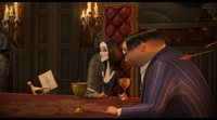 'The Addams family' clip: Family dinner