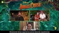'Jungle Cruise' Interview: Emily Blunt, Dwayne Johnson & Jack Whitehall